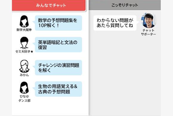 進研ゼミ高校講座_オンライン自習室_特徴3