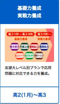 進研ゼミ高校講座プラン_高2から高3